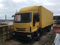 Iveco, EuroCargo 11,99t, 120E28/P,Koffer i.L.7,00x2,44x1,98,AHK,Ladebal,Ladekab,Schleud,Diff.-Sperre